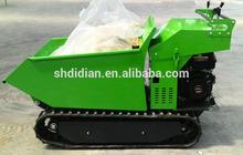 jp Hydraulic tip, 9hp, 270cc engine powered wheel barrow/mini dumper/ muck truck/mini transporter/garden loader/transporter CE