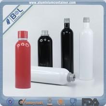 750ml vodka aluminum bottle frost drinking alcohol bottles wholesale