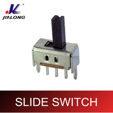 Switch Slide Minature Single Pole Double Throw on-on PCB Mount 0.3 Amp @ 50 Volt DC Metal House