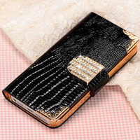 Hot Selling OEM Bling Cell Phone Radiation Protection Case for iphone 5/5S