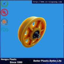 customized rubber or plastic wheel