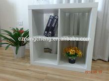 Ikea mirrored wooden cabinet