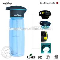 Clear plastic square bottles/jars for health medicine kids probiotic/gummies/vitamin