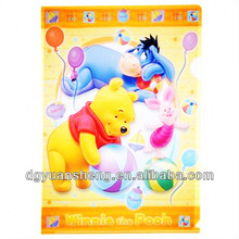 Wholesale cute PP Sationery file folder case / Clamp Portfolio