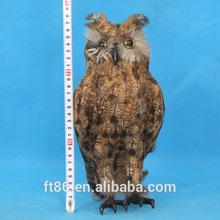 elegant pretty new feather 2014 hot popular newest animal plush artificial owl