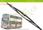 "T06, bus wiper blade, Hook 16x6mm, 36"" 40"", windshield wiper blade adapter"