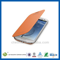 New Design Travel Style flip pu leather case for samsung galaxy s3