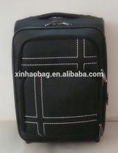 Fashion design nylon material trolley luggage bag