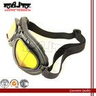 BJ-GT-005 Motorcycle black frames yellow lens helmet night vision goggles