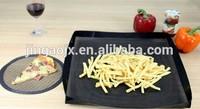 PTFE Mesh Baking Tray /reusable open mesh PTFE cooking basket