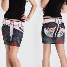 Mini Fashion Women's sexy Stretchy Bodycon Short Length Pencil Mini Skirt SV000671