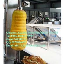 Papaya peeling machine/wax gourd skin removing machine/pumpkin peeling machine