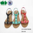 latest ladies sandals designs photo with rhinestones