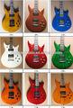 非常に美しい2023カスタムエレクトリックギター、 どの色でも利用できる