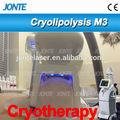 Salão de beleza instrumento 4 handpiece congelar gordura criolipolisis/vácuo que slimming o equipamento