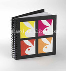 spiral bound book cover printing, spiral bound journal and address book