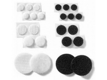 Custom shape die cut adhesive velcro circle , sticky backed adhesive velcro coins
