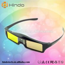 cheap 3d active shutter glasses/paper frame/customized logo