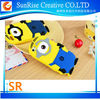 3D Despicable Me Minion Case Gift Silicone Case Cover For iPhone 4S/5S, for iPod 4,5