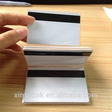Blank Hico mangnetic card/blank magnetic card