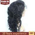 Puede ser teñido/irioned/enderezar/lavado de cabello natural brasileño peluca de pelo virgen pelucas llenas del cordón del pelo humano pelucas