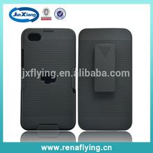 Wholesale hot selling hybrid pc case for Blackberry Z30