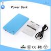 Portable USB power bank 5000mAh External backup battery charger for Mobile Phone