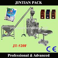 China hotsale soy milk powder packing machine JT-520F