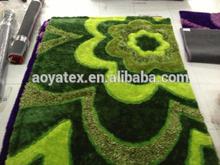 designer bedroom 3d carpet / floor mats China manufacturer
