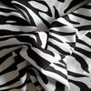 black and white stripe bedding fabric