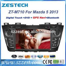 "ZESTECH dvd gps player radio audio vedio 7"" car dvd gps for Mazda 5 2013 car dvd gps player best price"