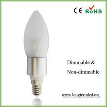 high brightness frosted cover 85V-265V e14 led lighting,5w e14 lights led