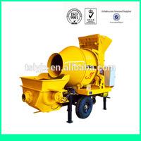 hot sale concrete mixer pump trailer