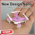 4cm cheerson 4 canali ufo 3d rotazione micro 2.4g 6- asse mini rc quadcopter cx-10 giocattolo macchina volante