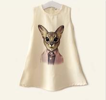 ORGANZA UNDERSKIRT BIG CAT FRESH THICK CHIFFON DRESS