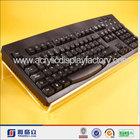 Elegant acrylic monitor / keyboard stand