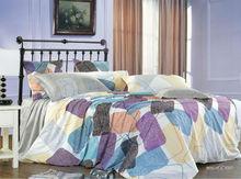 alibaba china supplier KOSMOS-100%cotton printed bed sheet set american size