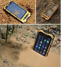 IP68 4inch waterproof phone dual core 512M+4G GPS Optional 3G 850/1900MHz landrover a8 MTK6572 rugged phone 2 dual sim