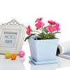 Garden Balcony Plastic tractor flower pot