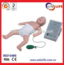 de las vías respiratorias cpr maniquí de entrenamiento para bebés de todo entrenador de enseñanza infantil kit de entrenamiento en rcp ficticio