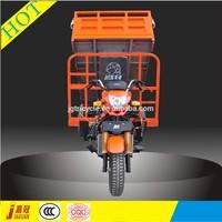 Hydraulic tipper reverse 3 wheel motor trike for adult