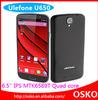 6.5 inch quad core smartphone Ulefone U650 6.5 inch big screen mobile phone