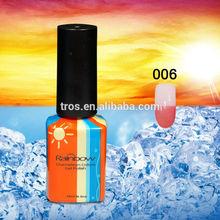 Color changing gel China chameleon nail gel glitter manufacture NO.06