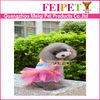 Stylish design high quality wholesale dog dress