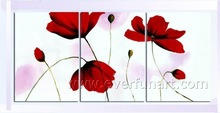 Flower Rose Handmade Oil Painting On Canvas