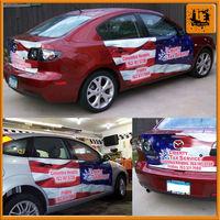 car sticker design toyota car body sticker