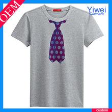 Tie Printing Cheap Custom T Shirts