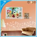 las hormigas zooyoo caracol vivero pared de dibujos animados calcomanía etiqueta de la pared decoración para el hogar de diseño extraíble