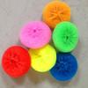 cleaning plastic mesh scrubber manufacturer plastic pot scrubber