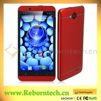 S6 5 inch Android MT6589 Quad Core Dual Sim card mobile phone